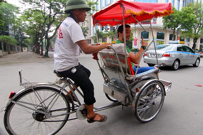 fahrradrikscha-hanoi
