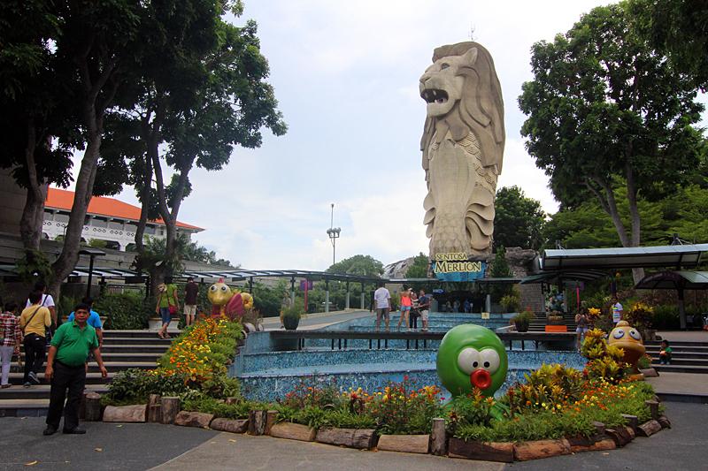 merlion-sentosa-singapur