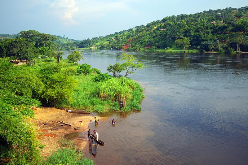 Fluss Kongo