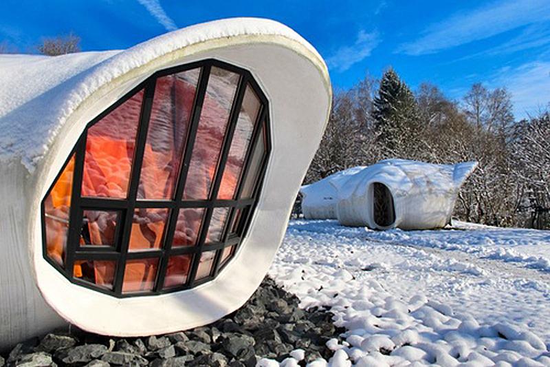 Museumotel L´île aux bulles in Raon l'Étape, Frankreich. Foto: I Don´t Camp...