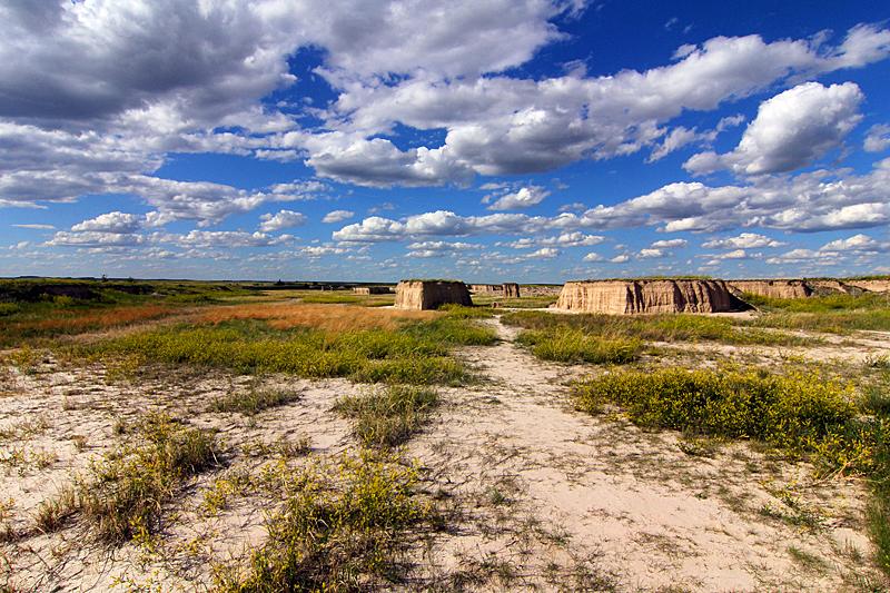 prarie-grass-land-badlands-south-dakota