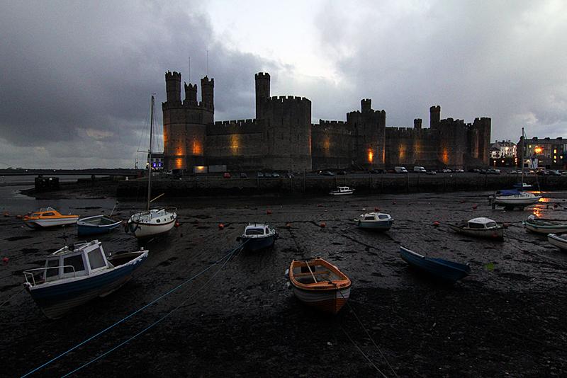 wales-reiseroute-caernaforn-castle