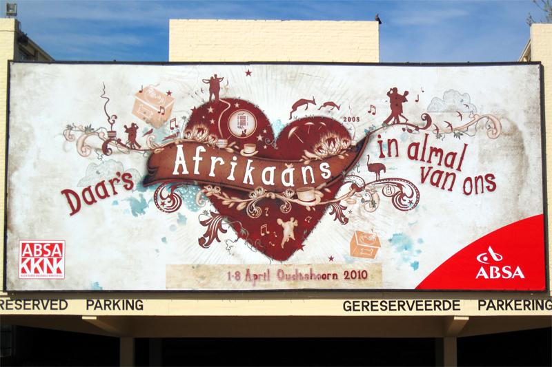 Sind wir nicht alle ein bisschen Afrikaans?