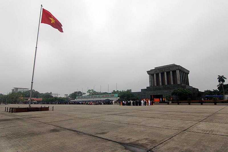 hanoi-sehenswuerdigkeiten-ho-chi-minh-mausoleum