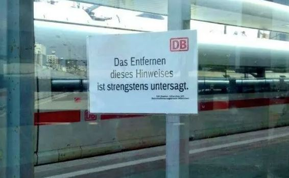 typisch deutsch befehl