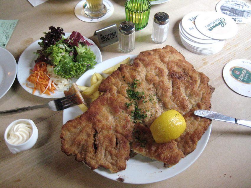 typisch österreichische küche schnitzel