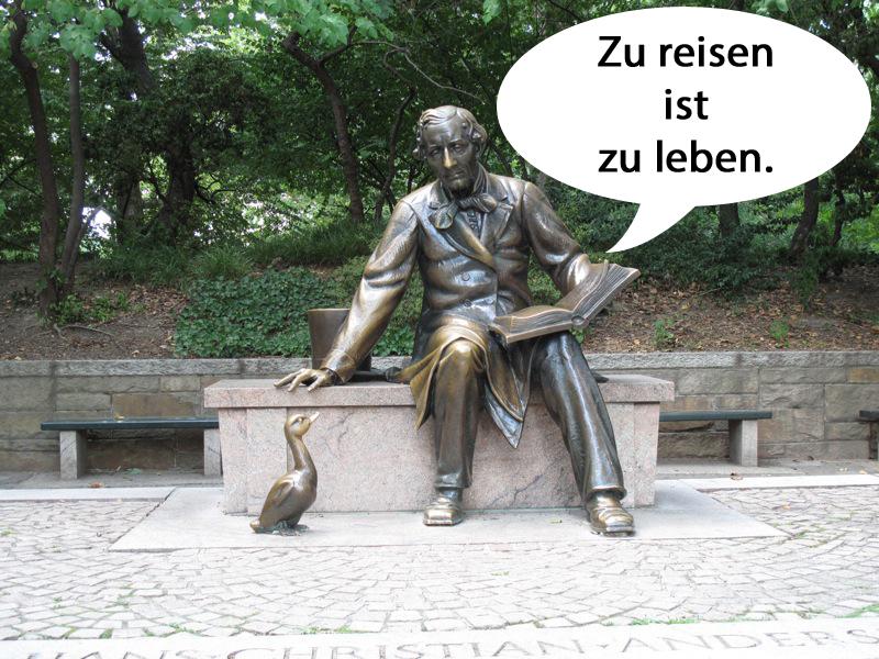 reisezitate Hans Christian Andersen