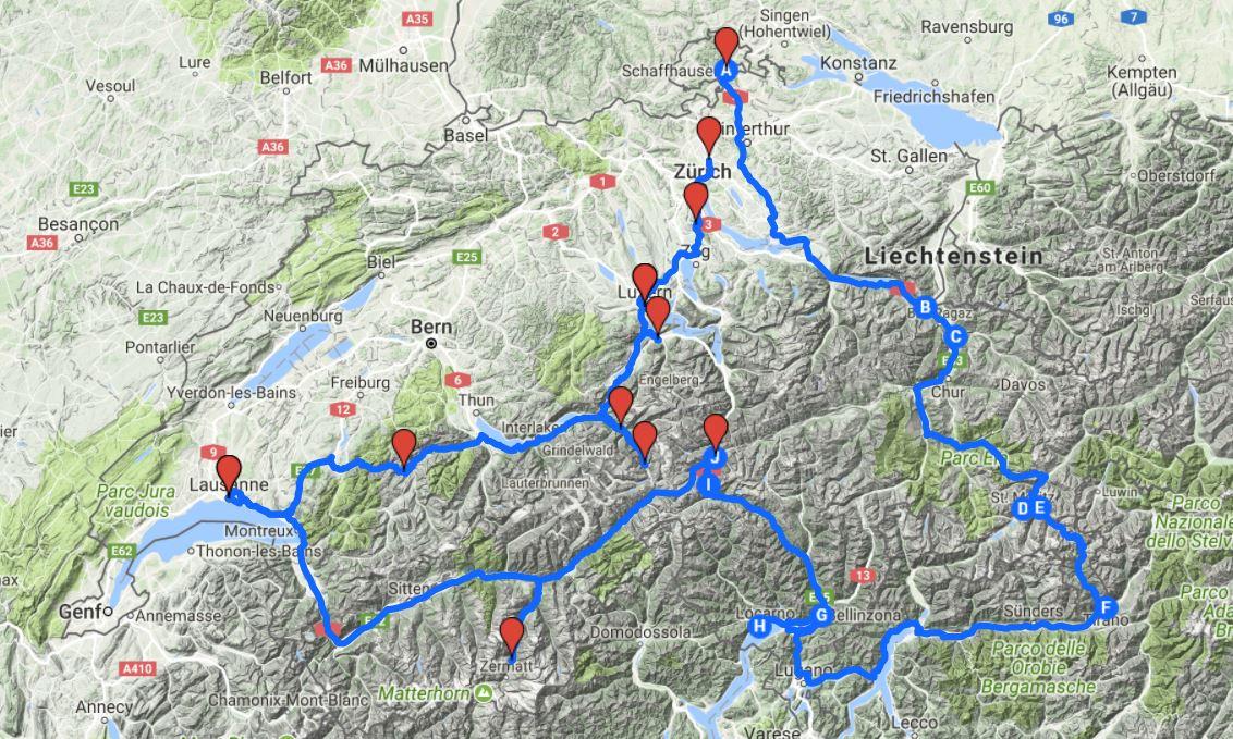 europa roadtrips