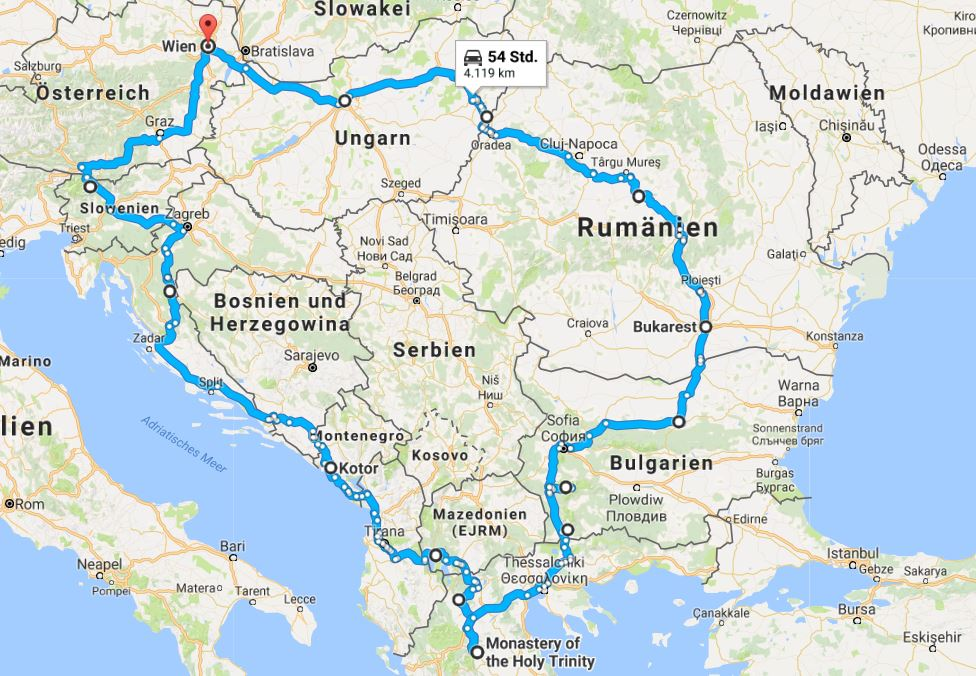 roadtrip europa osten