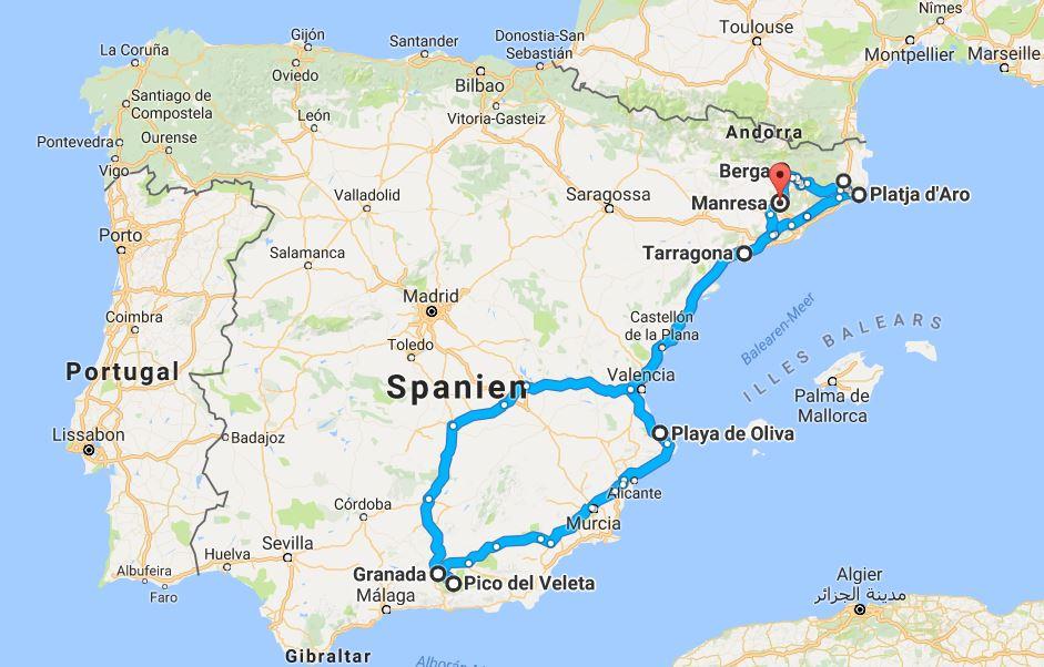 roadtrips europa spanien