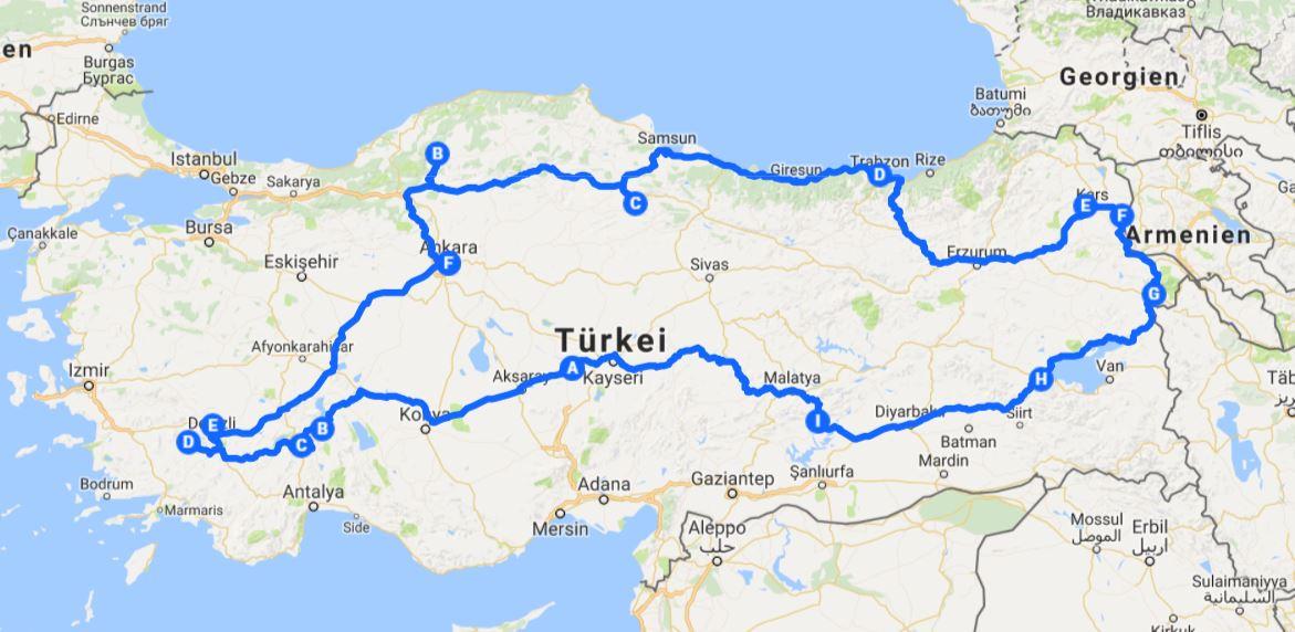 roadtrips europa türkei