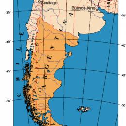 reisezeit patagonien map