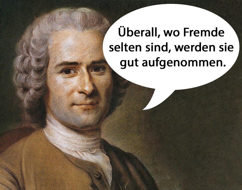 sprüche reisen Jean Jacques Rousseau