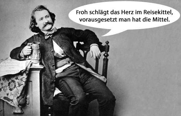 sprüche reisen Wilhelm Busch