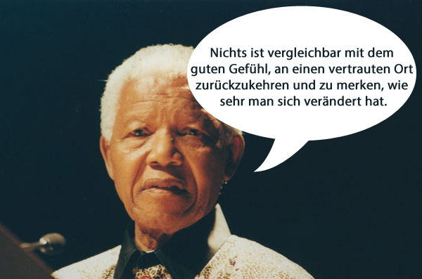 zitate reisen Nelson Mandela