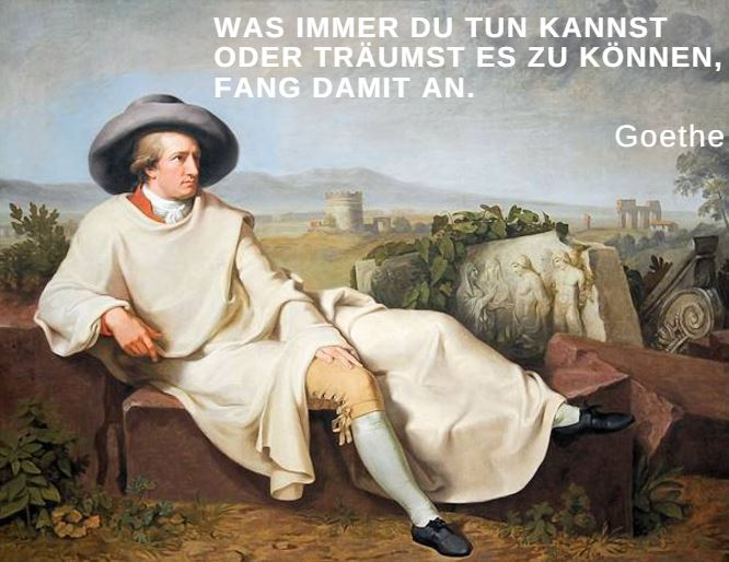 motivationsspruch goethe