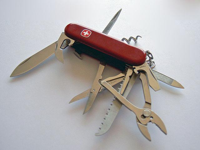 typisch schweiz Swiss Army Knife