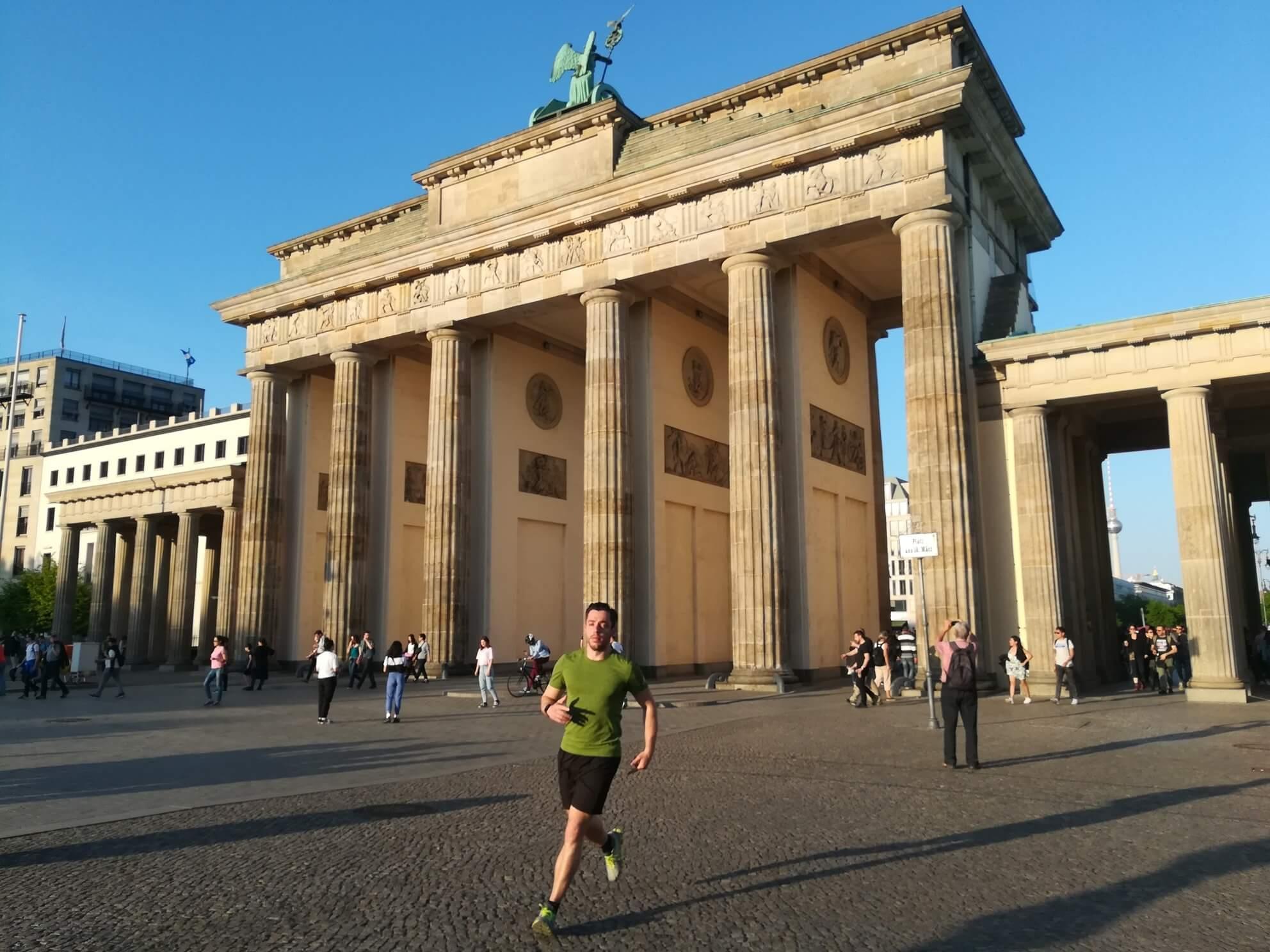 berlin sommer joggen
