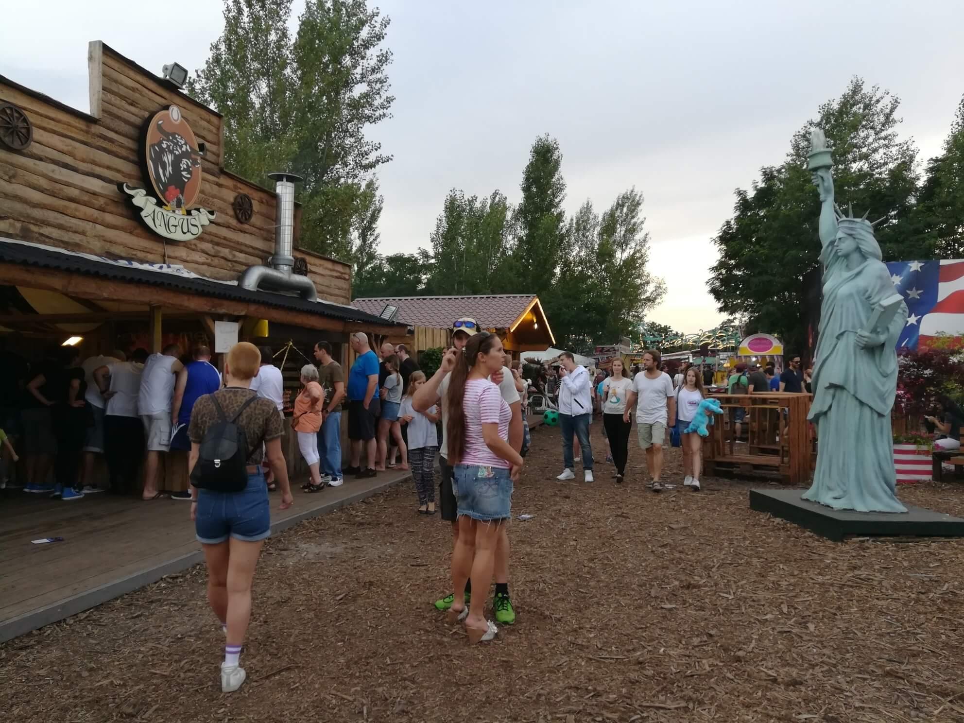 berlin im sommer deutsch amerikanisches volksfest