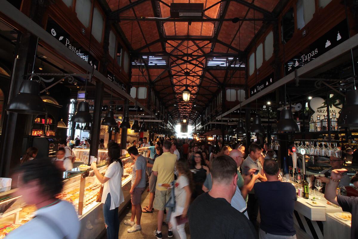 Madrid Streetfood Markt Mercado De San Miguel