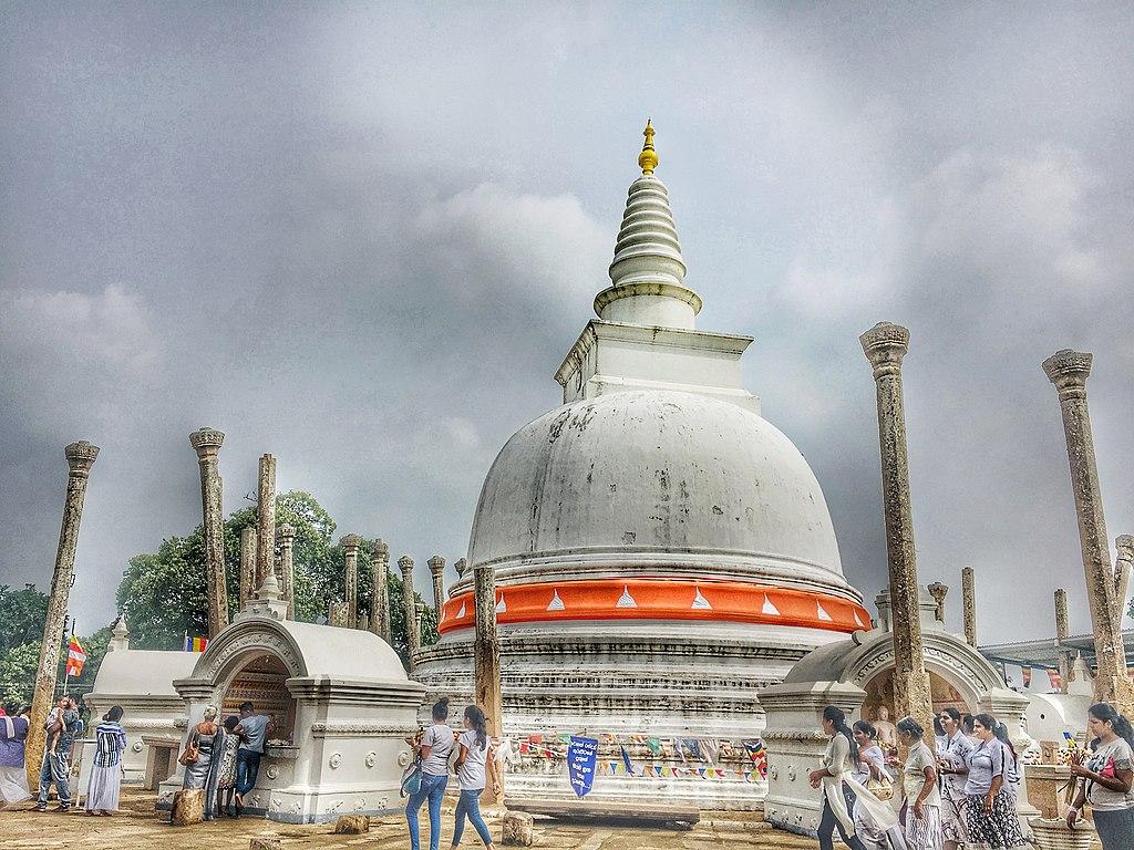 Sri Lanka Sehenswürdigkeiten – Stupa Anuradhapura