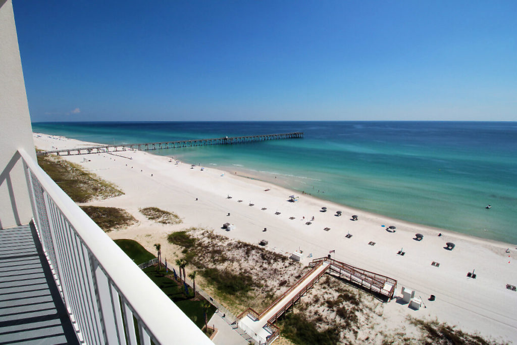 Panama City Beach – Blick vom Hotelzimmer